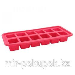 Силиконовая форма для льда квадратная