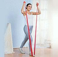 Резиновая лента для фитнеса и тренировок, эластичный жгут для фитнеса