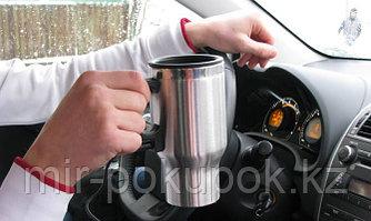 Кружка с подогревом от автомобильного прикуривателя, Алматы