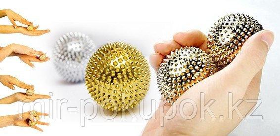 Массажные магнитные игольчатые шарики Две звезды, Алматы