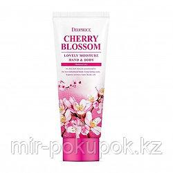 Питательный крем для рук и тела Цветущая вишня (Cherry Blossom) от Deoproce, Алматы