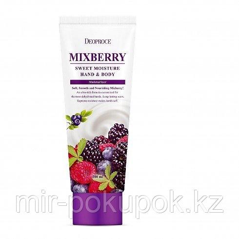 Питательный крем для рук и тела Лесные ягоды (Mixberry) от Deoproce, Алматы