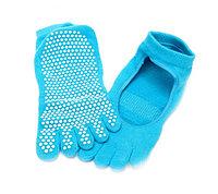 Носки противоскользящие для занятий йогой (ToeSox Women's Grip Full Toe Bella Socks), Алматы