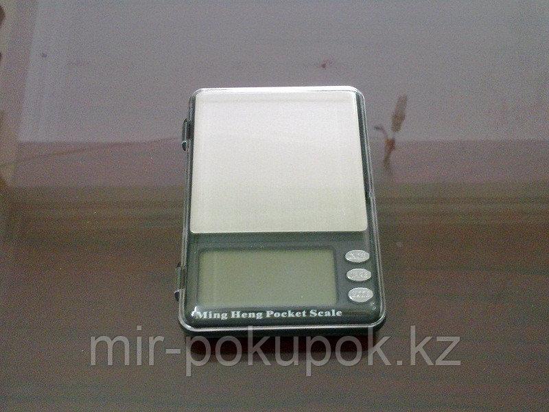 Электронные ювелирные карманные весы Ming Heng Pocket Skale MH339, Алматы