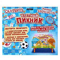 Распродажа! Скатерть-игра для пикника Улетный пикник, Алматы
