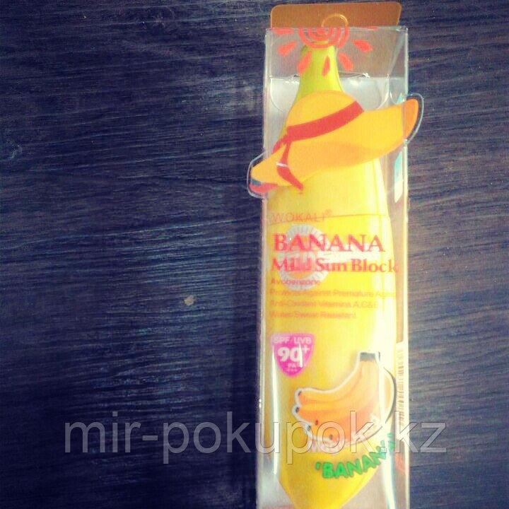 Солнцезащитный крем Банан SPF 90+, Алматы
