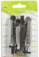 Набор металлических щипцов для мастики и декорирования (3 штуки)
