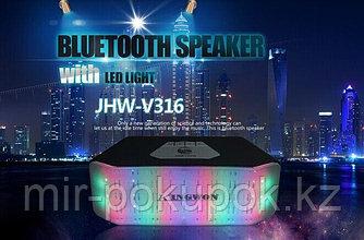 Беспроводная колонка с подсветкой JHW V316, Алматы