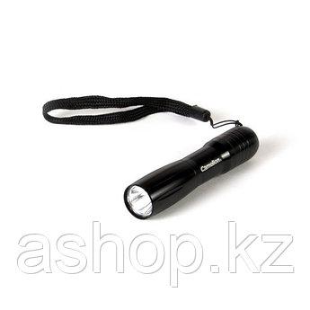 Фонарь светодиодный карманный Camelion FL1L2AA-2R6P, Цвет: Чёрный, Упаковка: Блистер