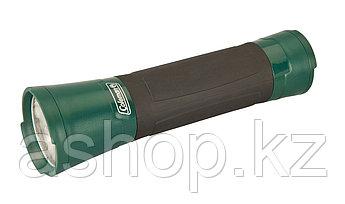 Фонарь электрический ручной Coleman Green 2D LED, Яркость: 46 лм, Цвет: Чёрно-зелёный, Упаковка: Розничная, (2