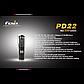 Фонарь электрический ручной Fenix PD22, Дальность луча: 113 м, Яркость: 210 (турбо), 105 (ярко), 45 (средне),, фото 7