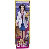 """Mattel Barbie DVF58 Барби Кукла из серии """"Кем быть?""""Ветеринар"""