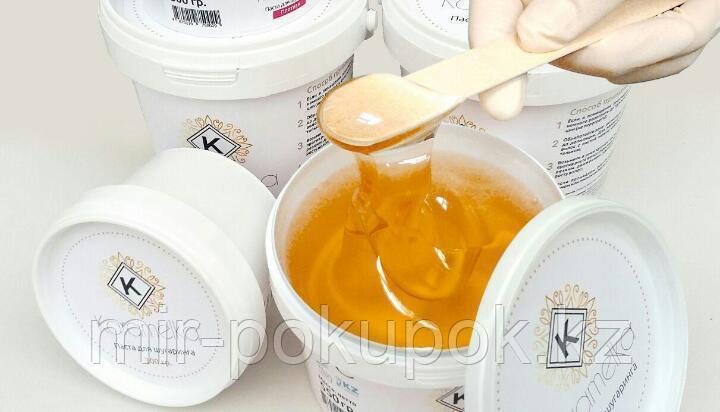 """Сахарная паста для депиляции (шугаринга) """"Карамелька"""" 300 гр., средняя , Алматы"""