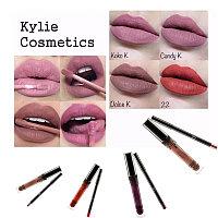 Жидкая матовая помада+карандаш для губ Lip Kit от Kylie Jenner