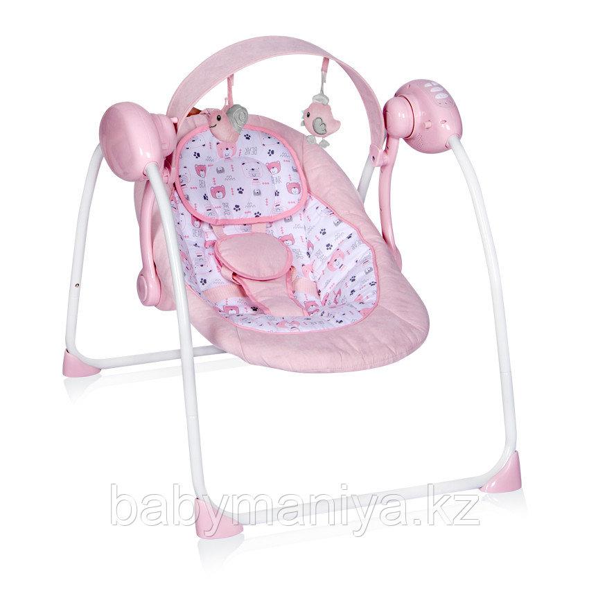 Электрокачели Lorelli Portofino Розовый / Pink