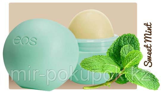 Бальзам для губ EOS Sweet Mint Сладкая мята, Алматы