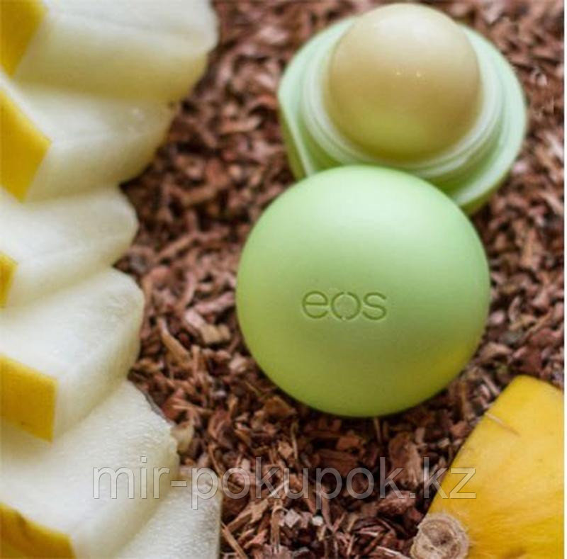 Бальзам для губ EOS Honeysuckle Honeydew Медовая дыня и жимолость, Алматы