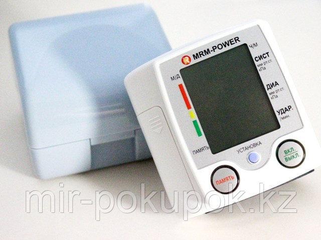 Тонометр артериального давления на запястье с монитором MRM-35, Алматы