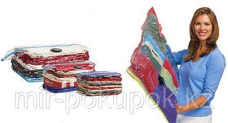 Вакуумные пакеты для хранения одежды, постельных принадлежностей и мягких игрушек 80*120, Алматы
