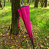 Зонтик-трость «Пекин», бордовый, фото 8