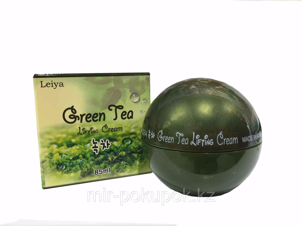 Лифтинг крем для лица Green Tea Lifting Cream, Leicos-Leiya (Корея), Алматы
