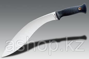Нож нескладной Cold Steel Gurkha Kukri, Общая длина: 432 мм, Толщина лезвия: 8 мм, Длина клинка: 305 мм, Матер