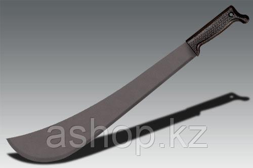 Мачете нескладной Cold Steel Panga Machete, Общая длина: 600 мм, Толщина лезвия: 2 мм, Длина клинка: 457 мм, М