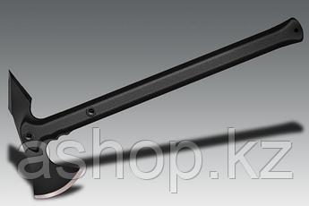 Топор Cold Steel Trench Hawk, Общая длина: 483 мм, Лезвие: 89 мм, Обух: 222 мм, Материал клинка: Сталь углерод