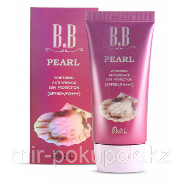 BB-крем с экстрактом жемчуга Ekel Pearl BB Cream SPF50/PA+++, Алматы