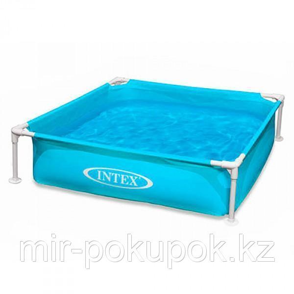"""Детский каркасный бассейн Intex """"Mini Frame Pool"""" (122* 122* 30 см) 57173, Алматы"""