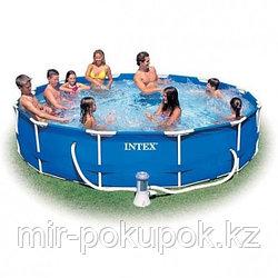 "Каркасный семейный бассейн ""Intex"" 28212 (366* 76 см), Алматы"