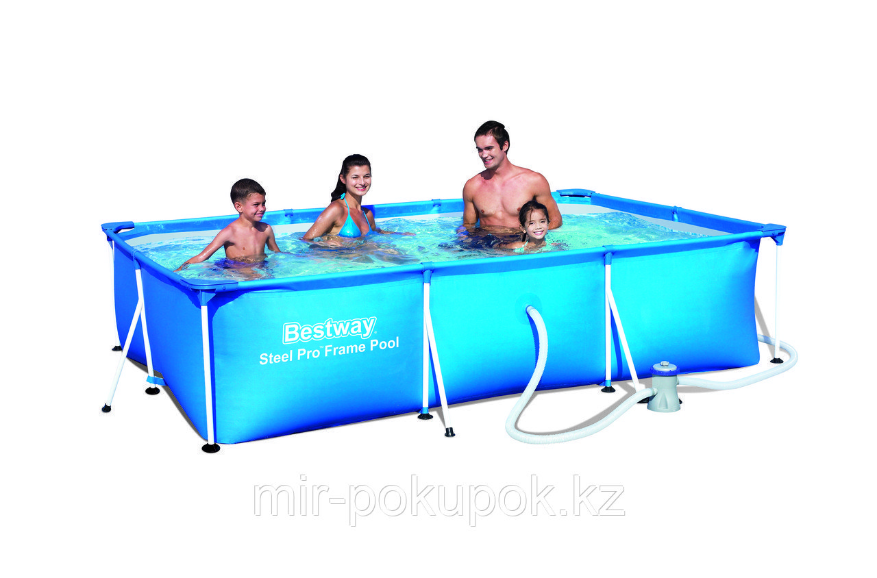 Каркасный семейный бассейн Bestway (300* 201* 66 см) 56411, Алматы