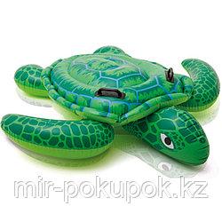 """Надувная детская игрушка Intex """"Морская черепаха"""" (150* 127 см), Алматы"""