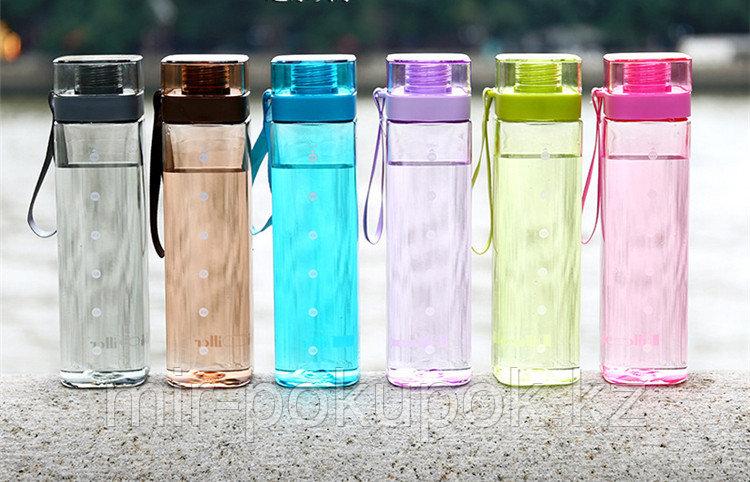 Бутылка спортивная для напитков и воды Diller, 700 мл, Алматы