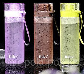 Бутылка с горлышком для напитков и воды Diller, 550 мл, Алматы