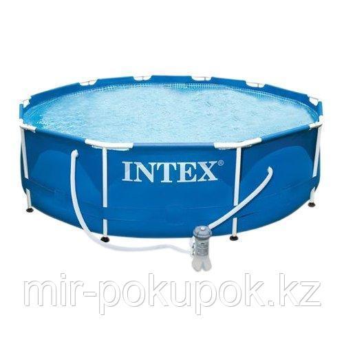 Каркасный бассейн 305 х76 см 28702 NP Intex фильтр насос, Алматы