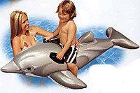 Детский надувной плотик Дельфин INTEX 175* 66 см (58535 NP), Алматы