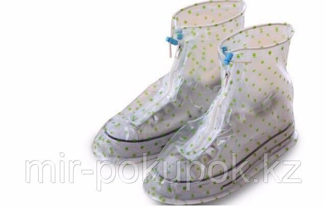 Водонепроницаемые дождевики для обуви (бахилы Rain boots), Алматы