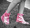 Защитные чехлы (дождевики, пончи, бахилы) для обуви от дождя и грязи с подошвой цветные, фото 2