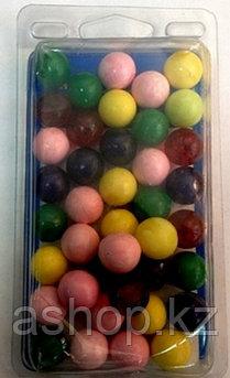 Пластиковые шарики Megaline 163/1, Диаметр: 17 мм, 40 шт., Упаковка: Коробка