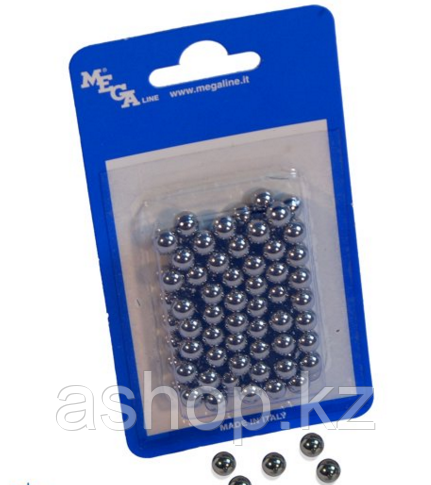 Металлические шарики Megaline 163/6, Диаметр: 7,9 мм, 100 шт., Упаковка: Коробка