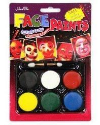 "Краски для лица 6 цветов, ""Face Paints"", Алматы"