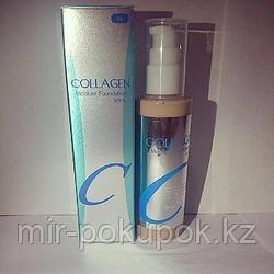 База тональная Collagen Moisture Foundation SPF 15, тональный крем с коллагеном (реплика)