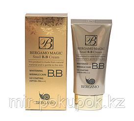 B.B Крем Bergamo Magic Snail B.B Cream, Алматы