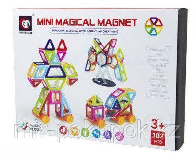 Магнитный конструктор MINI Magical Magnet 102 детали, Алматы