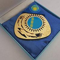 Памятная медаль с футляром и лентой, фото 1