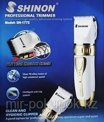 Машинка для стрижки волос Shinon sh-1772  усовершенствованная система бритья, Алматы