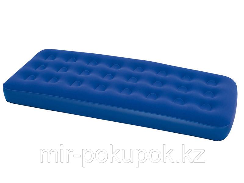 Матрас надувной односпальный 185х76х22 см, max 120 кг, Bestway 67000, поверхность флок, Алматы