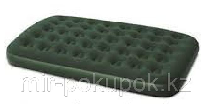 Матрас надувной двуспальный 191х137х22 см, max 295 кг, Bestway 67448, поверхность флок, Алматы