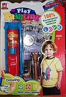 Распродажа! Детский проектор для рисования  с мелками Play Painting, Алматы